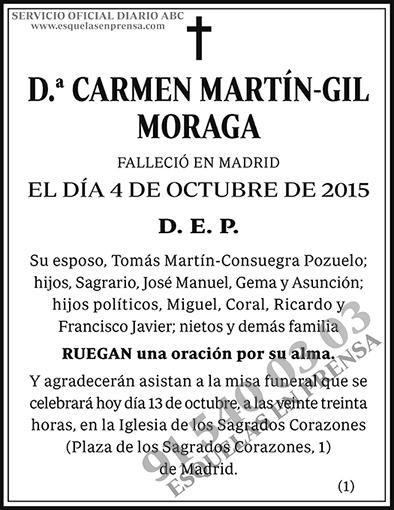 Carmen Martín-Gil Moraga